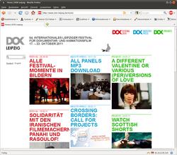 Neue Webseite der Leipziger DOK-Filmwochen online